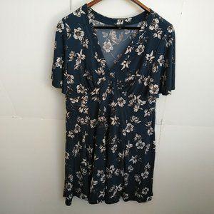 Torrid Floral Dress V Neck